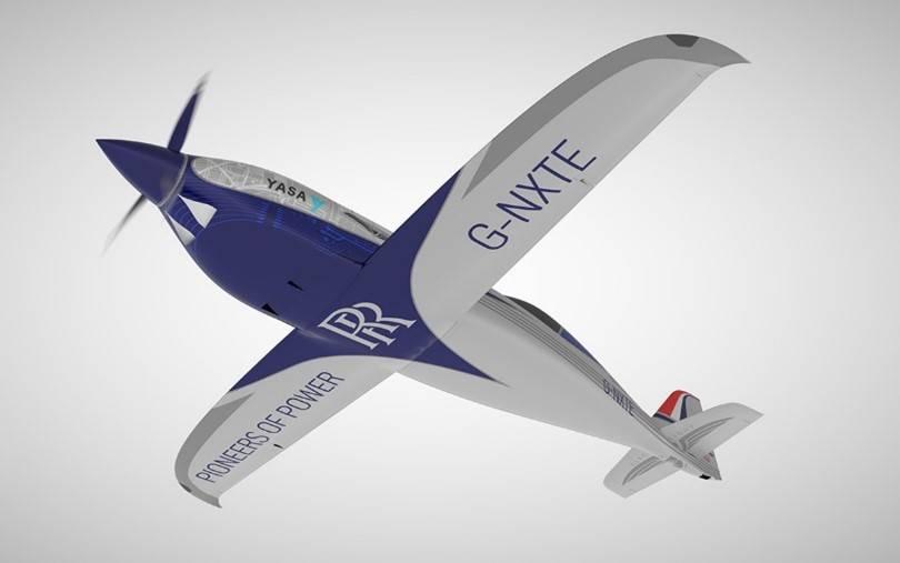 罗罗公司表示其最新电池技术将为飞行出租车的发展铺平道路
