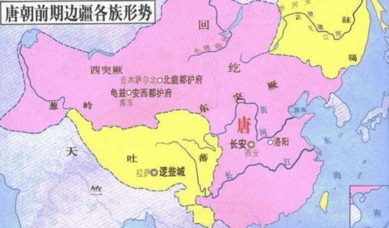 唐朝国土面积达1237万平方公里 唐朝都消灭了哪些国家 唐朝灭了几个国家