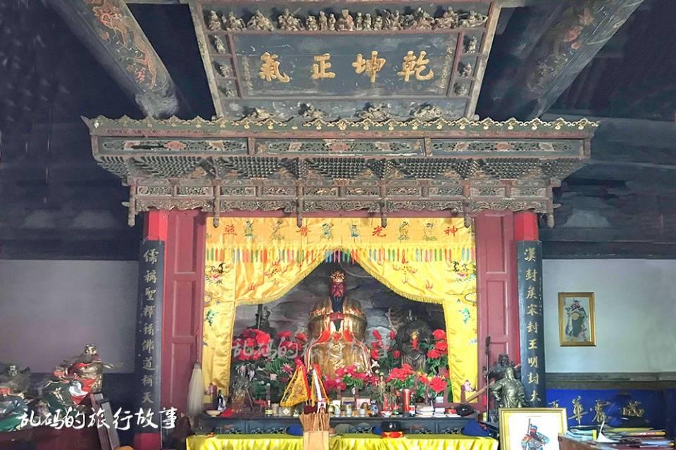 """山西这座庙 被誉为""""信义财神庙"""" 有罕见明代铜镜据说祈福很灵验"""