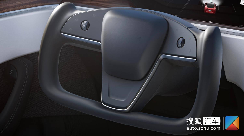 保留传统方向盘 新款特斯拉Model S谍照