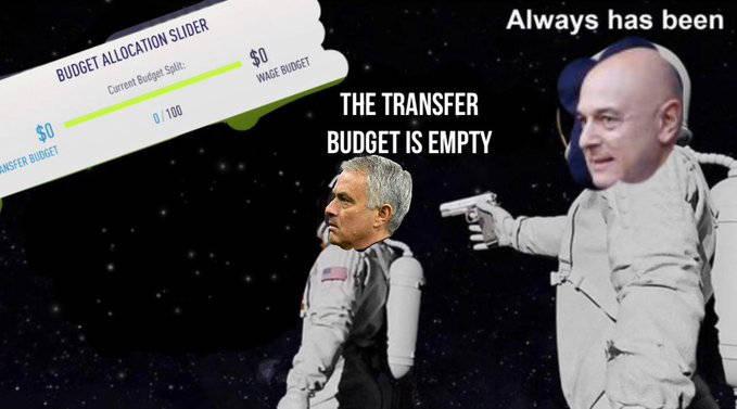 原创             金融专家:穆里尼奥又遇新麻烦 热刺可能要卖7个球员还1.75亿贷款