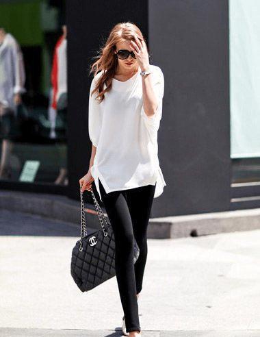 原创             T恤无需多!百搭时髦的白T恤必不可少,都市时尚离不开它