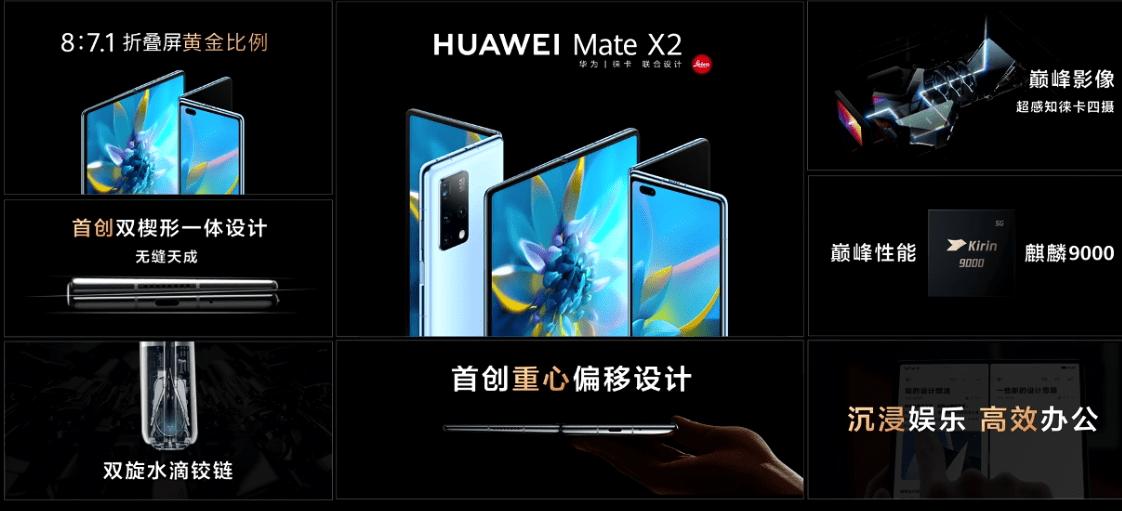 华为MateX2折叠屏正式发布:17999元起步,你买么?