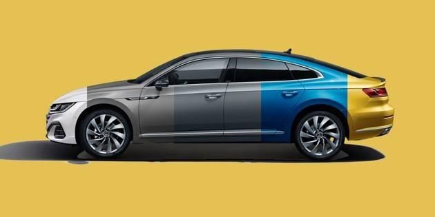 新大众CC家族推出了定制最漂亮大众车的全新年轻姿态
