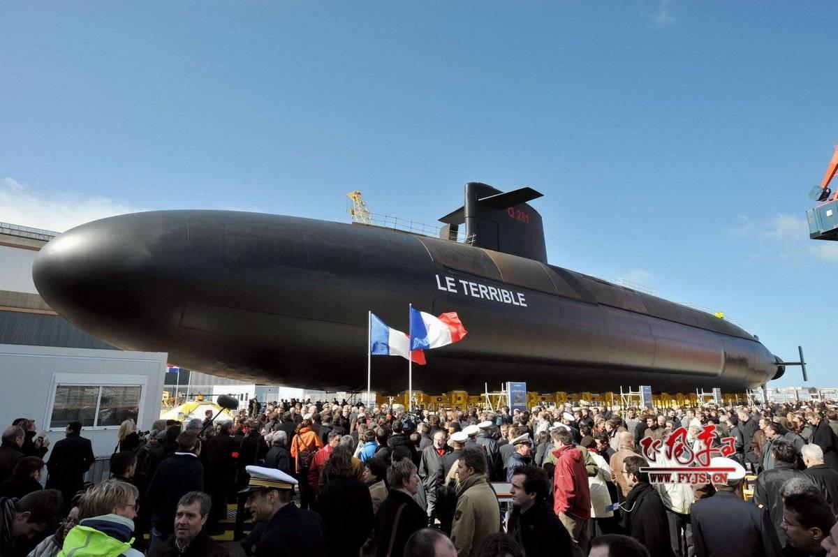 法国要用举国之力,造4艘新一代战略核潜艇,将服役到2090年