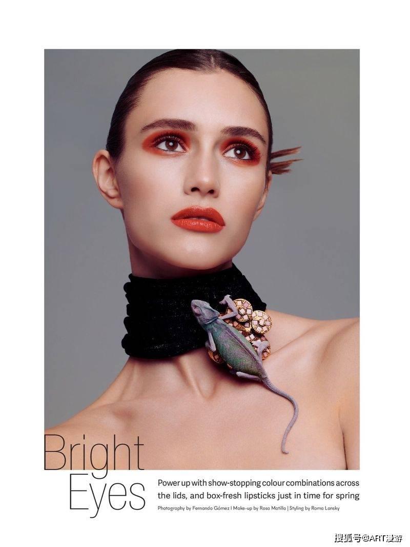 《Mojeh》杂志时尚大片:明亮的眼睛 ...