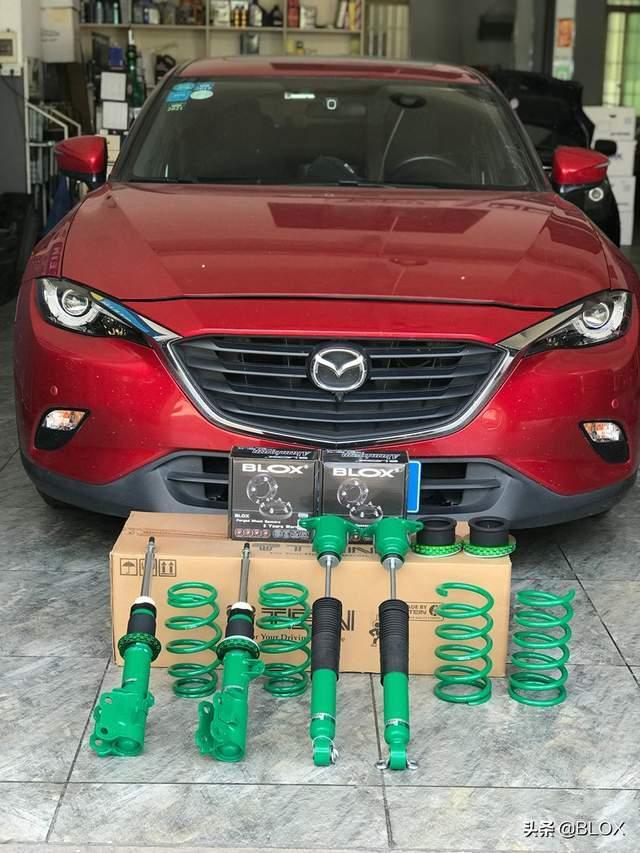 "BLOX改装套件——克服SUV""硬伤"",马自达CX4改装共享"