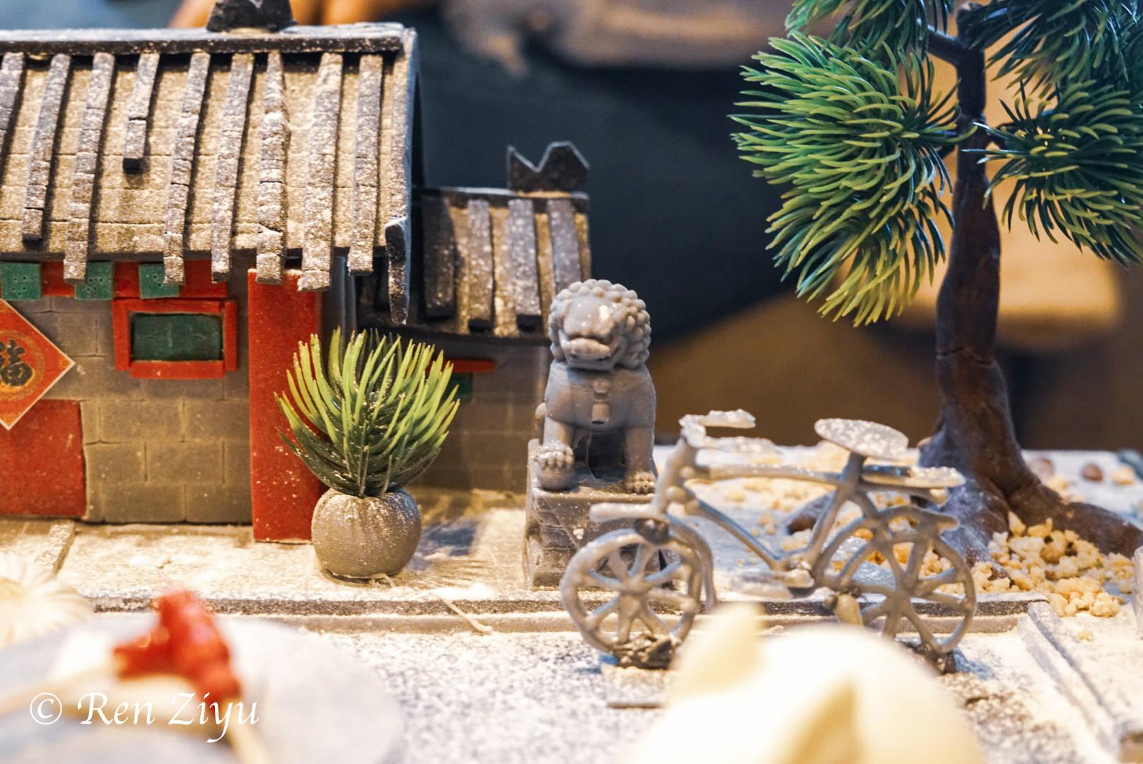 """北京小吃的精致吃法,去吃""""故宫以东""""下午茶,位置佳能看到故宫"""