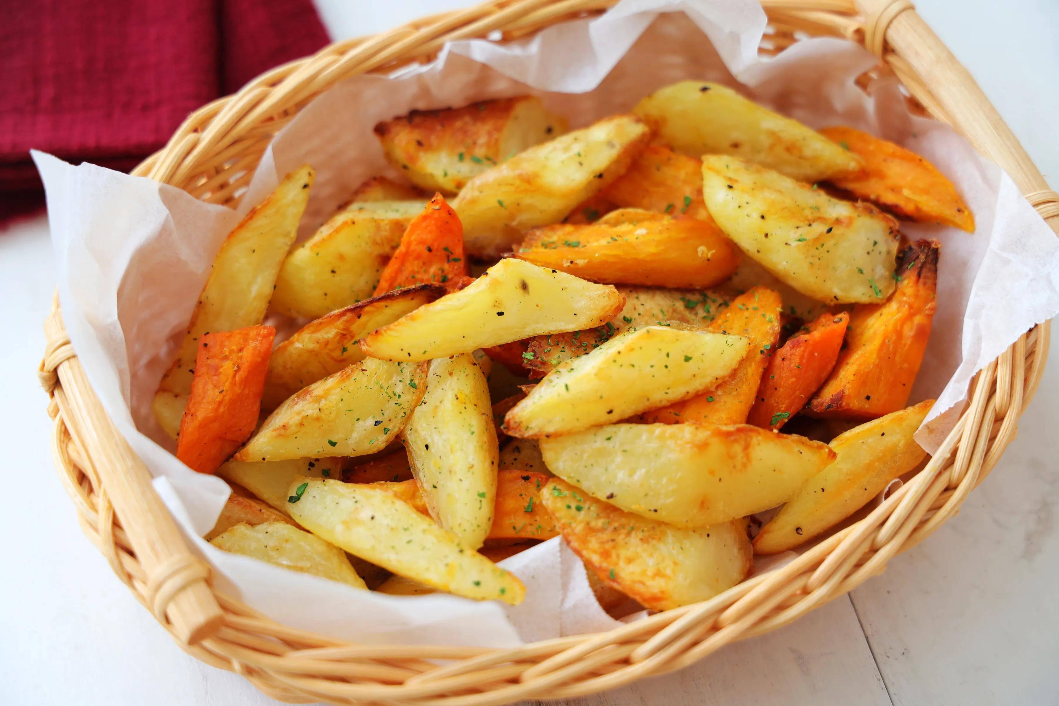 看电影别吃薯条,试试这样做,不用油炸外焦里嫩,比薯条好吃多了