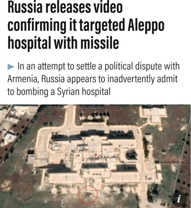 轰炸医院被实锤:为证明导弹性能,俄罗斯发布实战视频意外曝光
