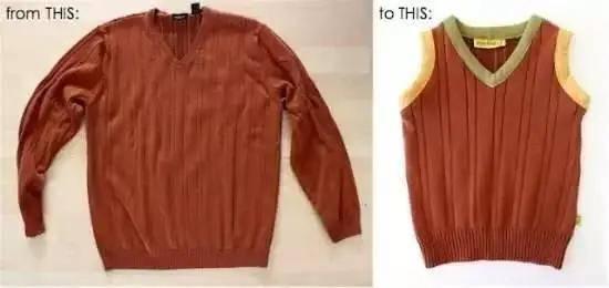 穿旧的毛衣千万别扔,聪明女人这样一改,再也不买新衣服