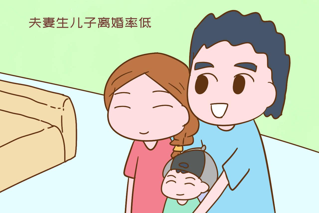 生儿子的夫妻不容易离婚,说到底是以下原因,现实充满无奈
