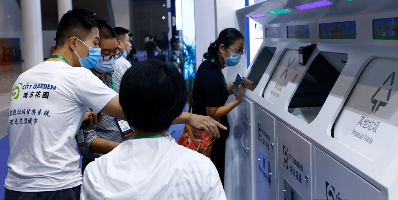 2021深圳垃圾分类处理设备展_广州1.8万个垃圾分类投放点80%完成升级改造