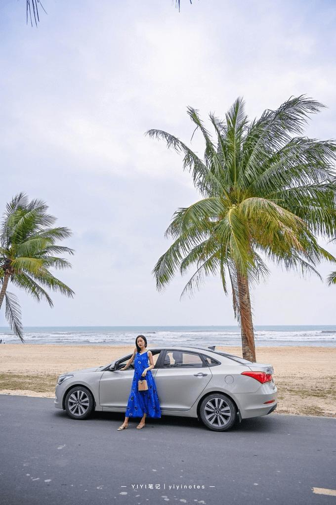 海南最美海滨公路,冲浪者的天堂,媲美马尔代夫的度假胜地