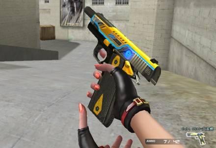 【CF】猫枪和猫手套已现身,再来一款猫手枪猫咪套装就完美了