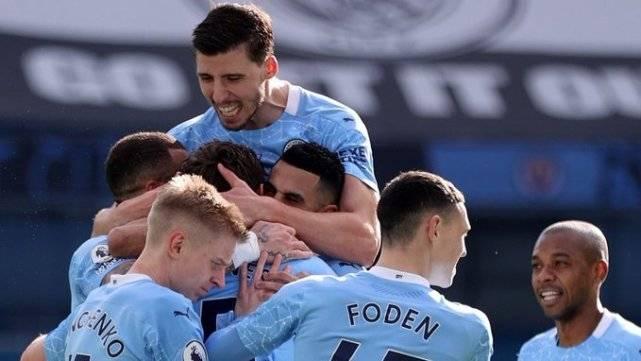 原创             英超积分榜:曼联0-0掉链子第2,曼城4-1夺21连胜第1,蓝狐第3
