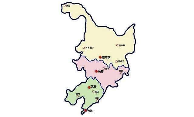 东北三省:辽宁、吉林、黑龙江,2020年GDP对比