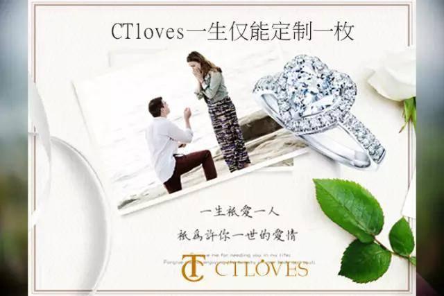 有一种真爱戒指CTloves 以一生仅一枚闻名全球