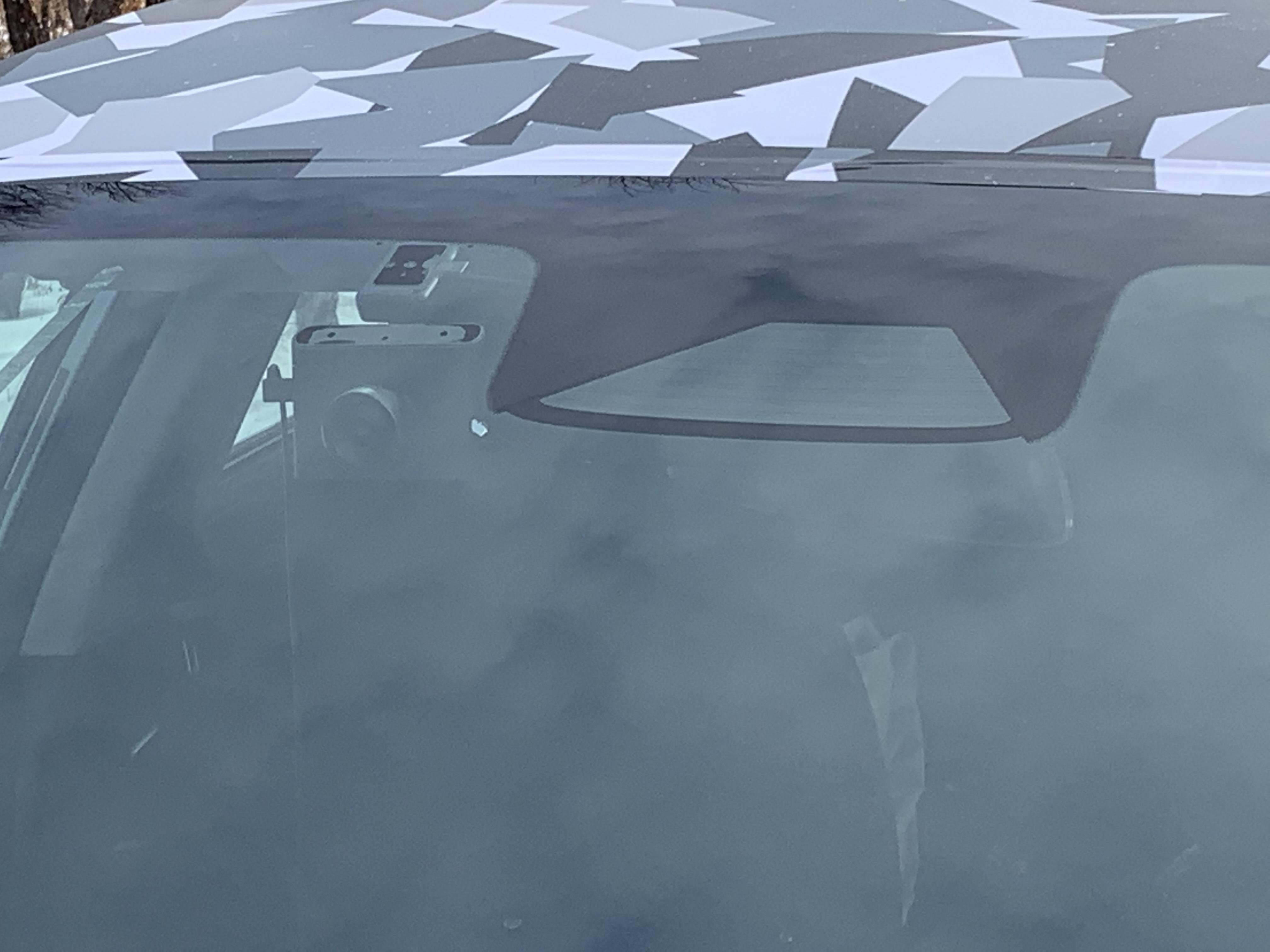 未见激光雷达 小鹏全新nb88新博app纯电动轿车高寒测试谍照曝光