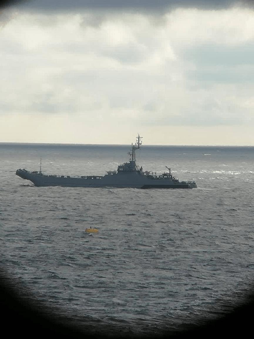 波兰舰机持续干扰俄北溪2项目,俄专家说,美国手上的牌已打完