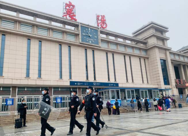 襄阳车站派出所强化清明小长假安保工作