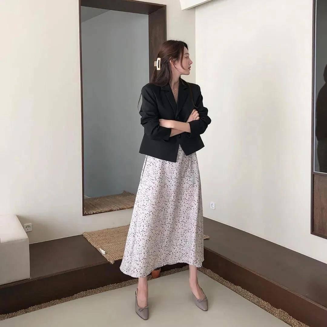 今春流行的单西外套长这样,30岁以上小个子穿,显高时尚又高级!