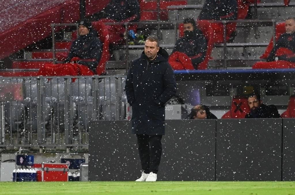 拜仁连续19场不败遭巴黎终结 弗里克吞欧冠首败