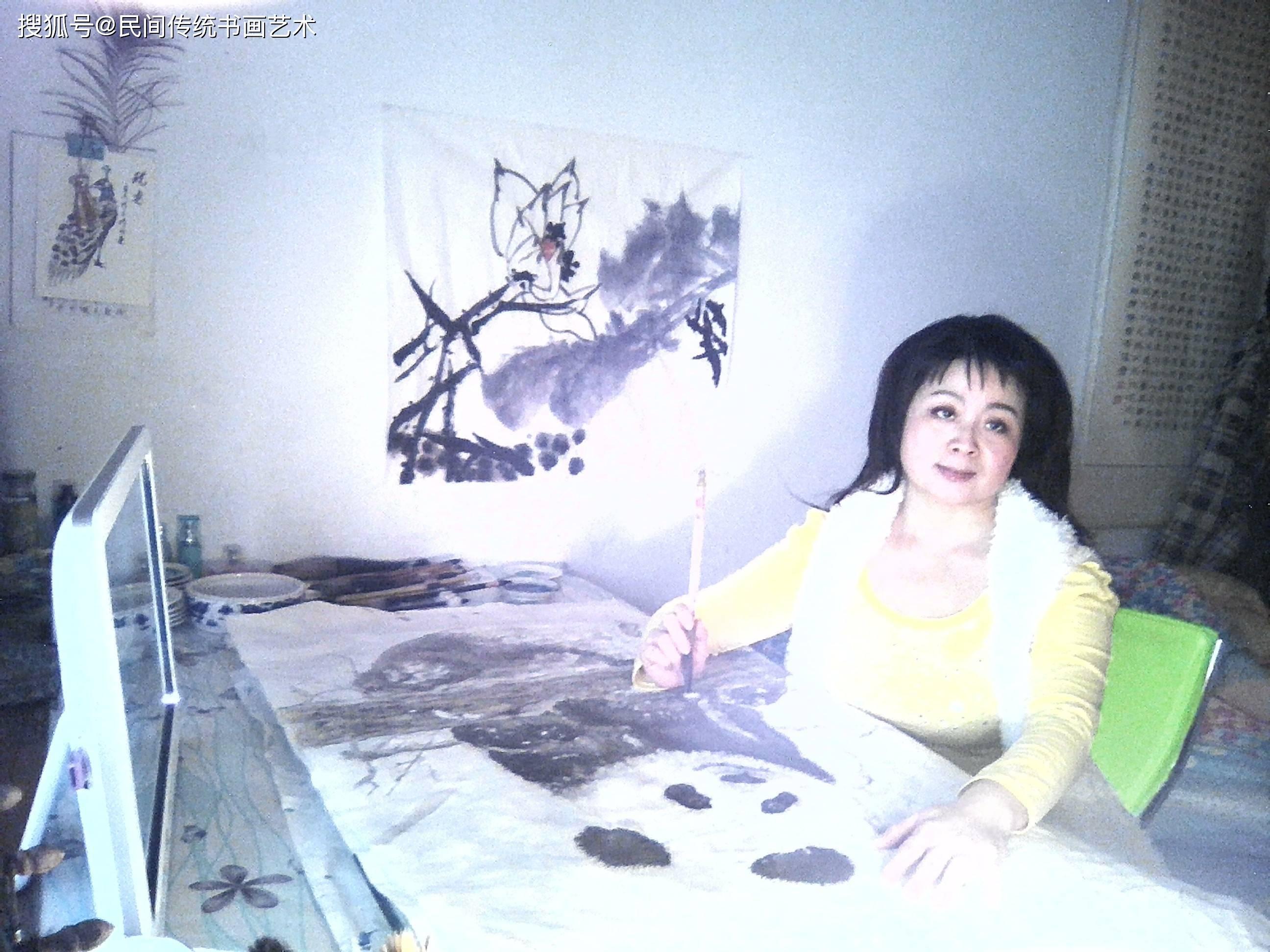 贾倩倩——人物绘画艺术的独特风格