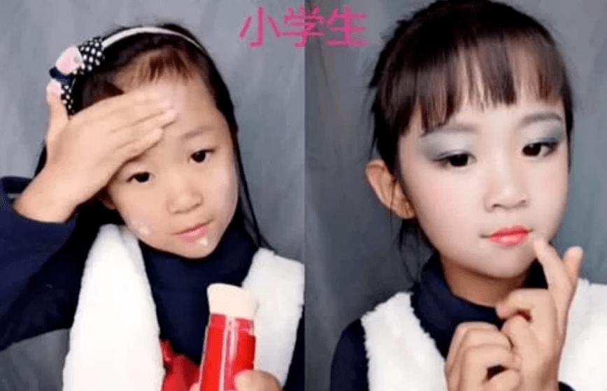 """4个年龄段""""化妆对比"""",高中生反差感强烈,大学生像换了一个人"""