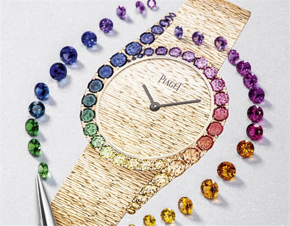 """原创             魔都钟表展看珠宝腕表,伯爵也出了""""彩虹圈"""""""