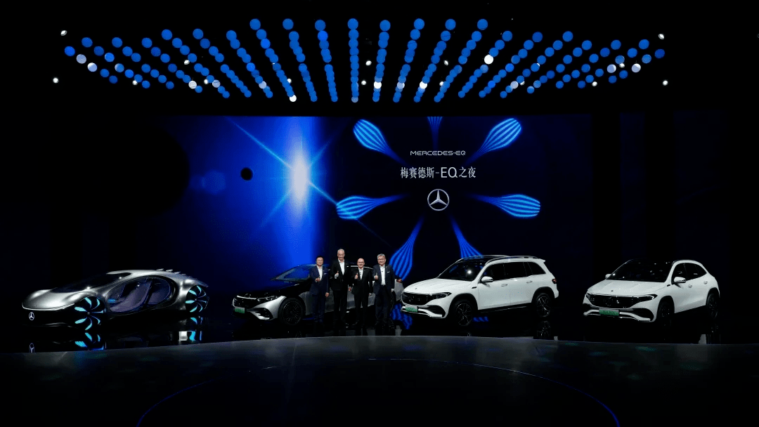 奔驰携全新EQA、EQB、EQS纯电车三箭齐发,与VISION AVTR穿越未来_车型