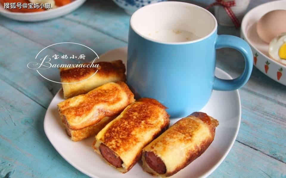 早餐又有了新格式,我家小学生吃美了,肉蛋奶
