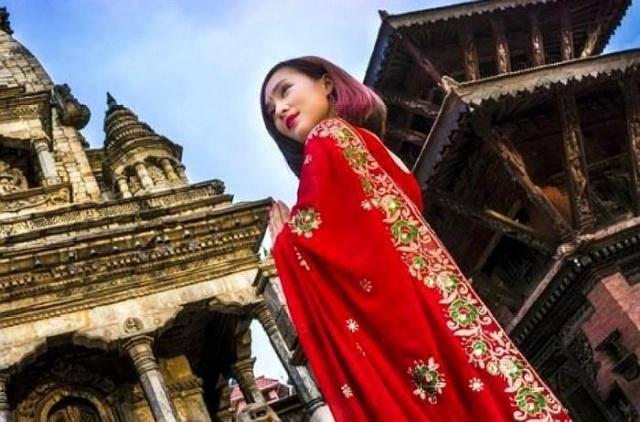 """继韩国越南之后,尼泊尔也出现""""中文标语"""",内容引中国人好感!"""