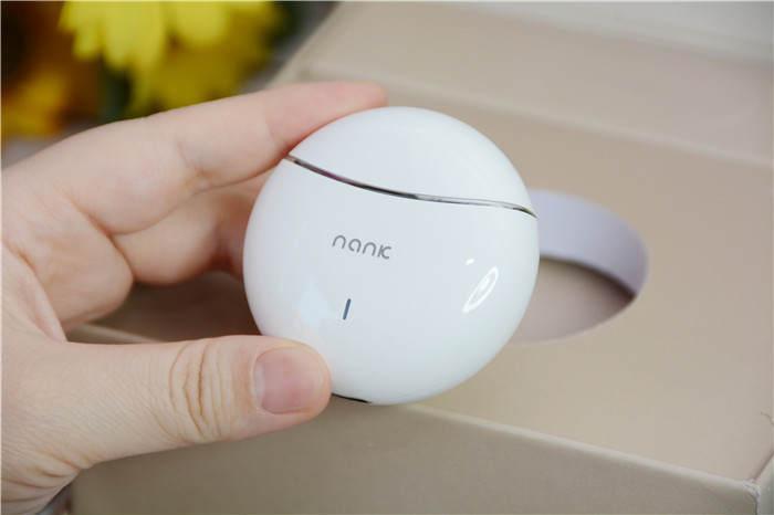 南卡蓝牙耳机Lite Pro开箱体验 妹子说音质、手感都满意