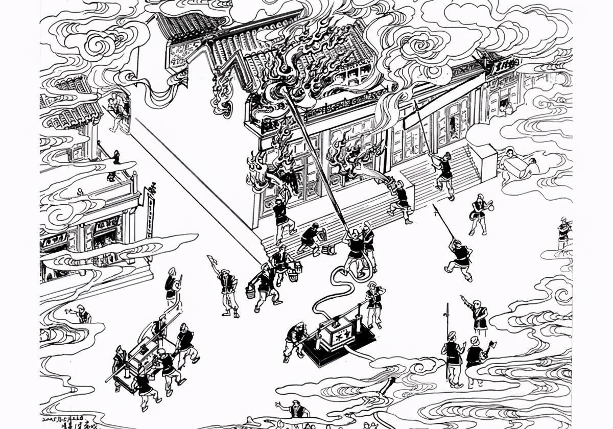 古人如何灭火 中国古代消防史了解一下