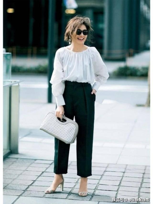 """原创             中年微胖女人更要""""好好穿衣"""",教你几招,避开雷区又时髦显瘦"""
