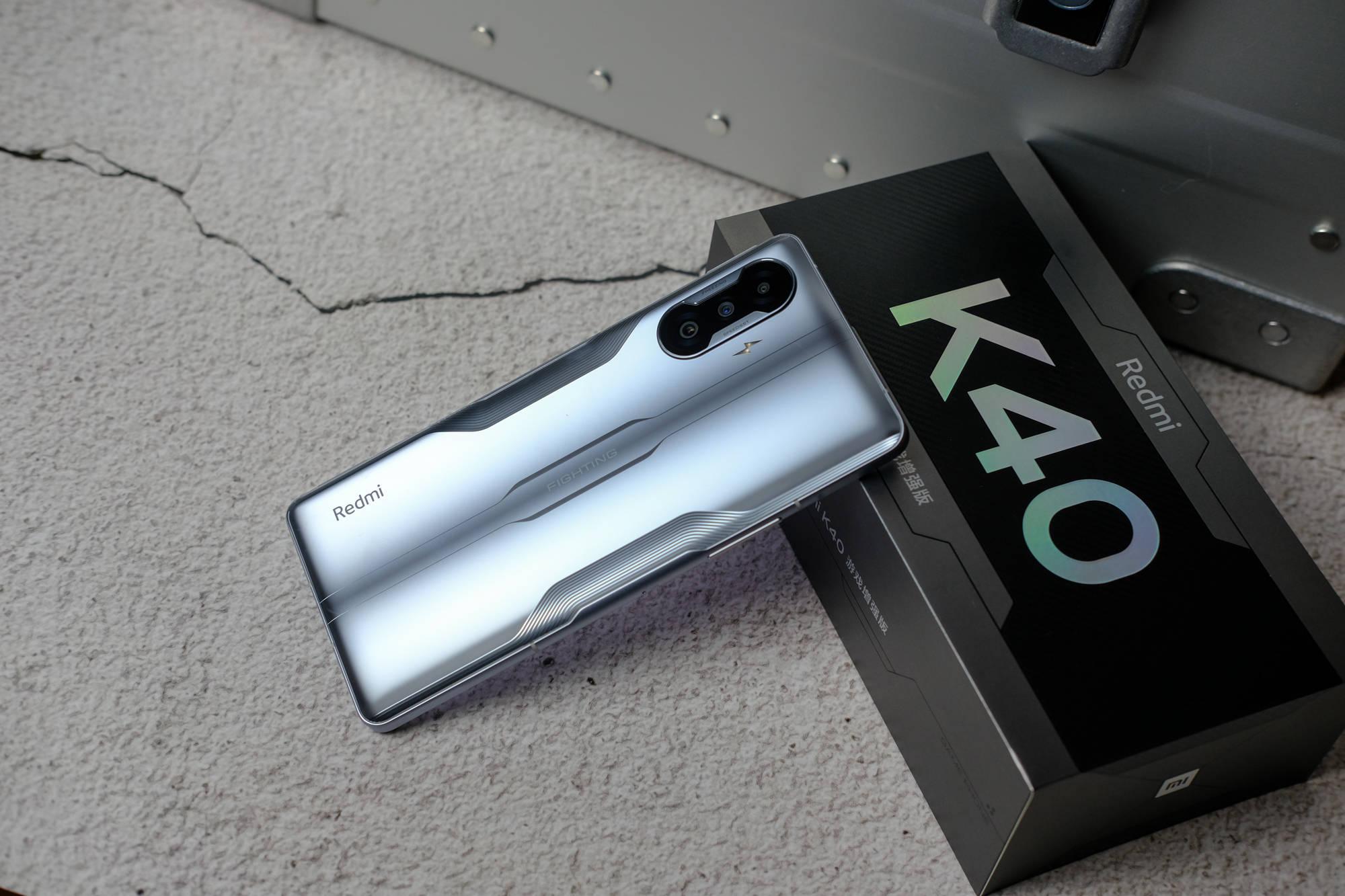 原创             Redmi K40游戏版真机上手体验,天玑1200+67W快充,仅1999元