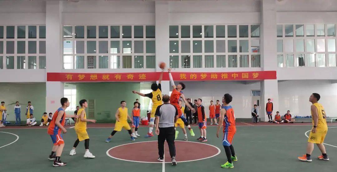 禹城市2021年中学生篮球赛圆满落幕