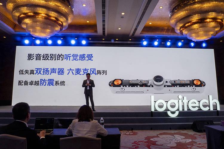 原创             罗技发布新品:CC5500e视频会议系统及OnePres无线投屏器正式亮相