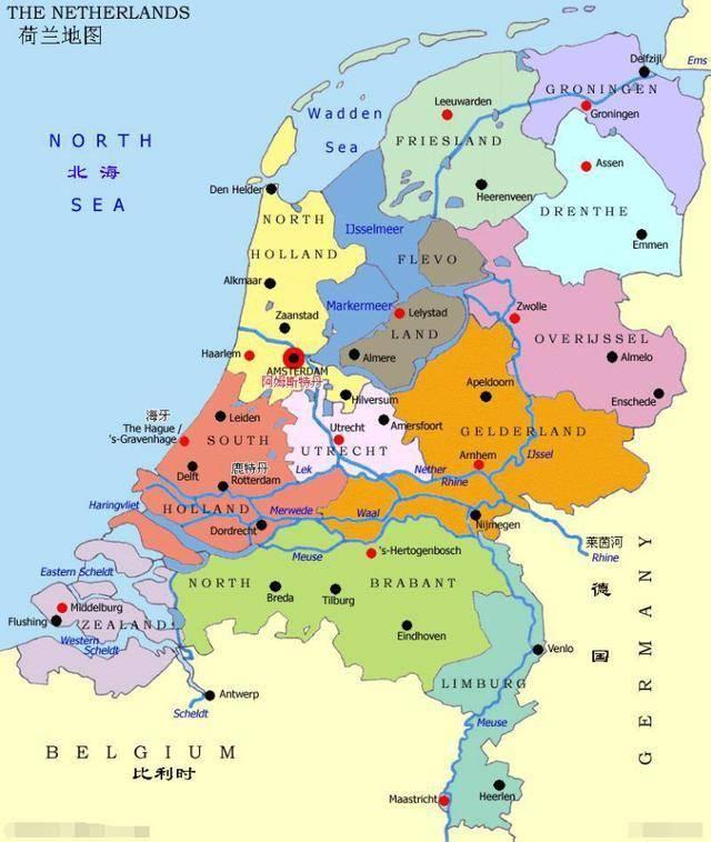 荷兰人口密度_欧洲十个人口大国排名