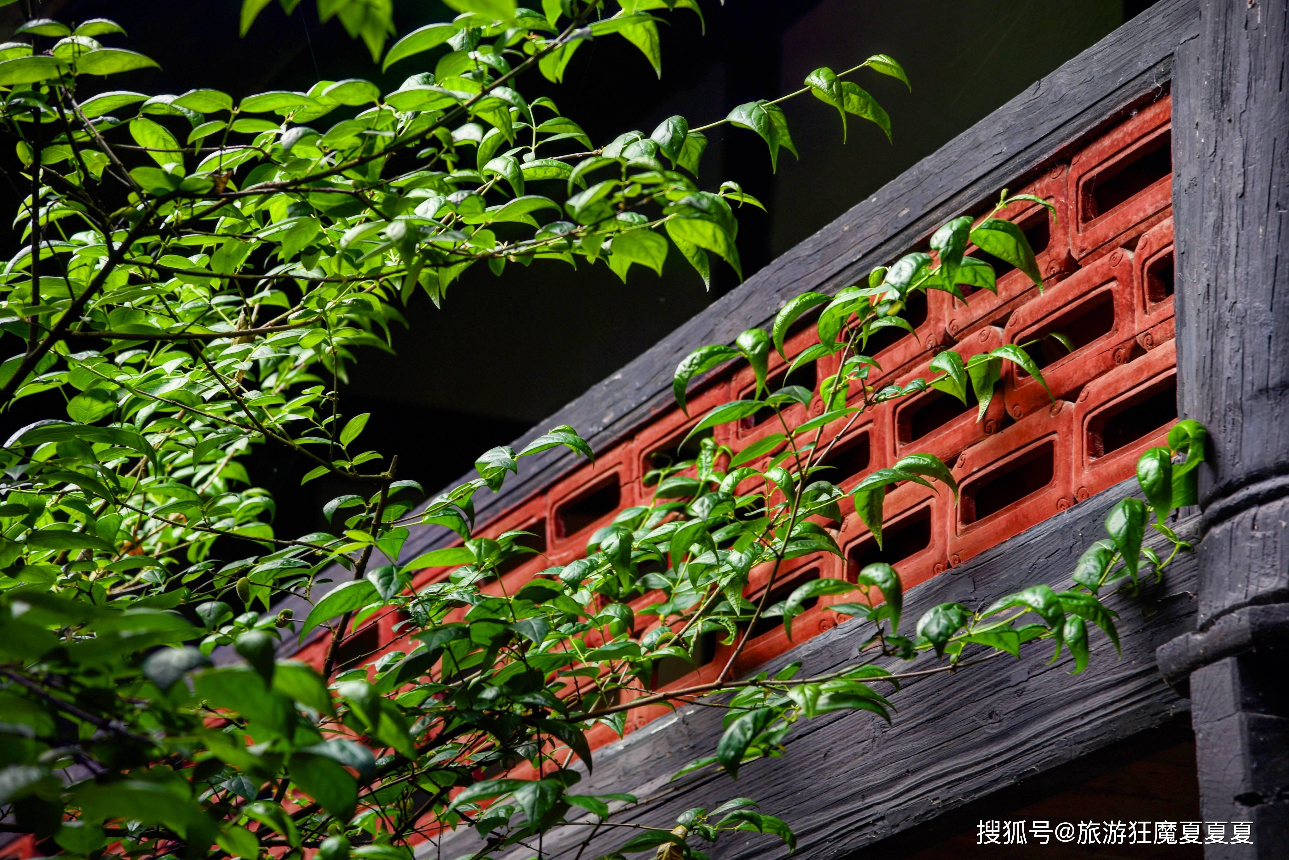 原创             川南黔北的著名古刹,被整石凿成的228的红柱托起,慈禧亲赐匾额