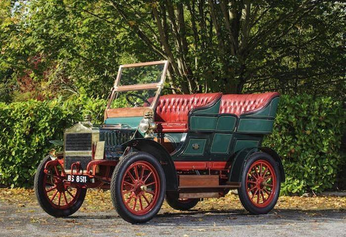 克莱斯勒的前生麦克斯韦(Maxwell)各个时期的车型xab