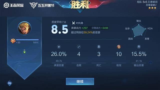 """一局比赛加3000战力,玩家害怕天美""""封号"""",网友:正常操作                                   图2"""