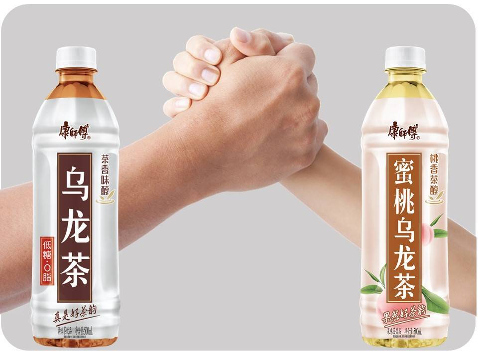 """康师傅饮品再发力乌龙茶市场,乌龙茶""""最强兄弟""""全新上市 图1"""