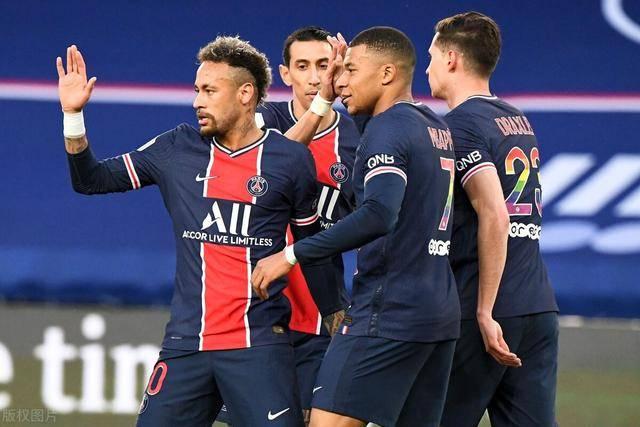 法甲-内马尔传射姆巴佩破门 巴黎4-0距榜首1分 里尔末轮赢球即夺冠