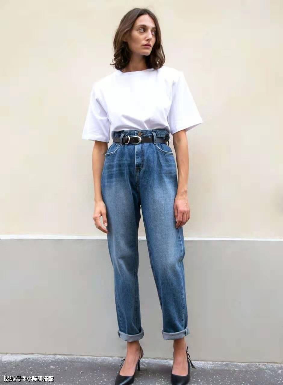 """""""T恤+牛仔裤""""只能平淡无奇?理清2点搭配思路,拒绝路人感"""