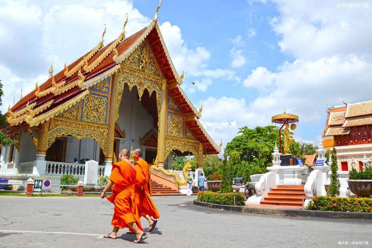 泰国清迈最大的佛寺,彰显宗教艺术典范,游客必到的打卡地