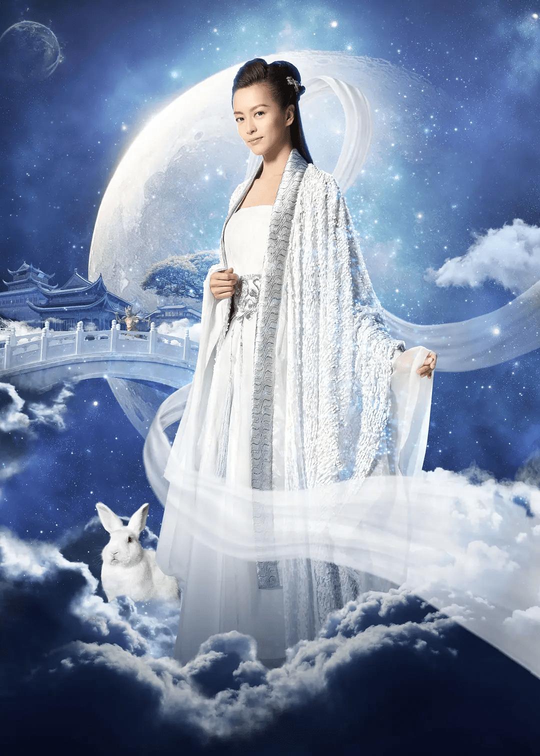 """图片[41]-12位嫦娥谁最美?她最颠覆仙女形象,堪称""""婊里婊气""""-妖次元"""