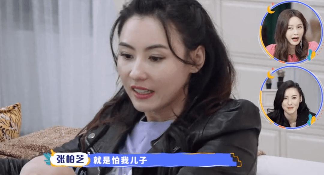张柏芝晒视频,大儿子一头卷发下半脸酷似谢霆锋,母子全英文交流