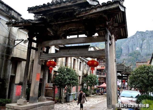 浙江小众古村落,以五座牌楼为亮点,曾出过三位进士